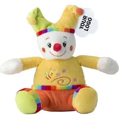 Picture of Clown plush toy.