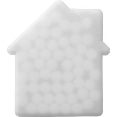 Picture of House shaped mint card.