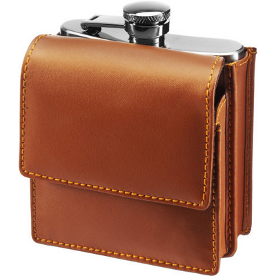 Picture of Stainless steel hip flask (175ml)
