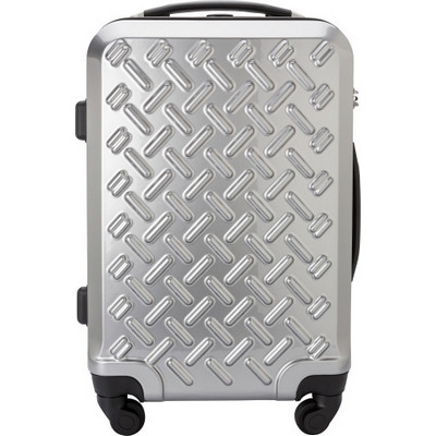 Picture of PCABS matt silver trolleyluggage