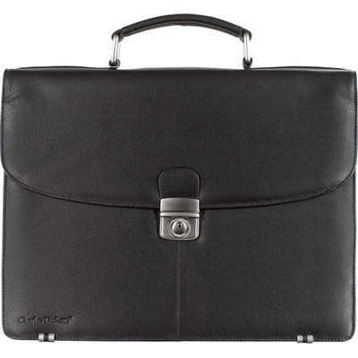 Picture of Charles Dickens leather briefcase
