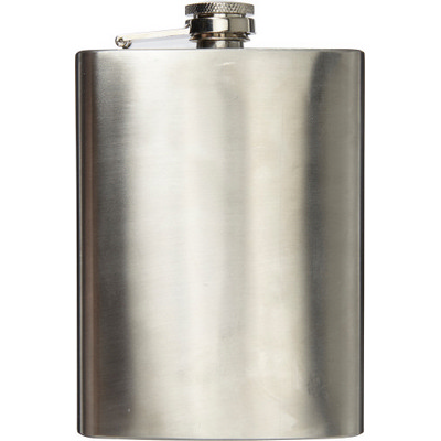 Picture of Stainless steel hip flask (240ml)