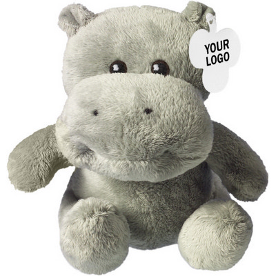 Picture of Soft toy hippo,  t-shirt 5013
