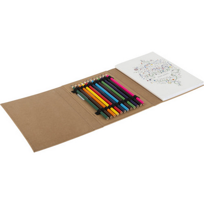 Picture of Colouring folder for adults