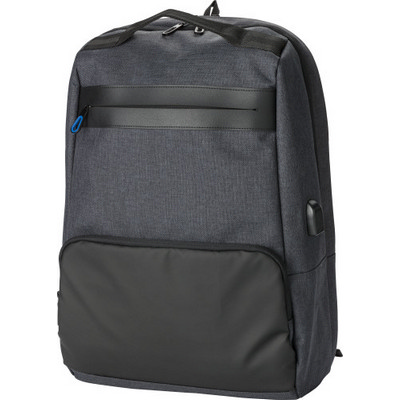 Picture of PVC backpack with anti-theft back pocket.Bag