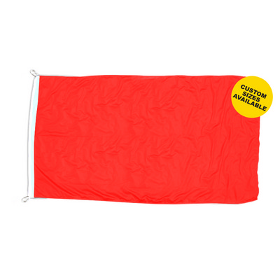 Picture of 130 GSM Shiny Polyester Flag - 2500mm x