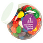 Assorted Colour Mini Jelly Beans in Cont