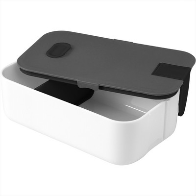 Picture of 2 Compartment Bento Box with Phone Stand