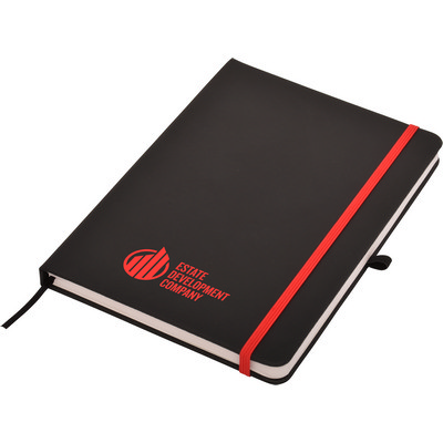 Picture of Carnival Plus A5 Notepad- Black