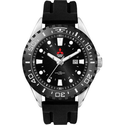 Picture of Watch, Metal with Silicone Strap
