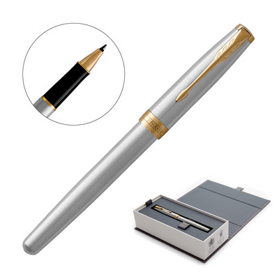 Picture of Metal Pen Rollerball Parker Sonnet - Bru