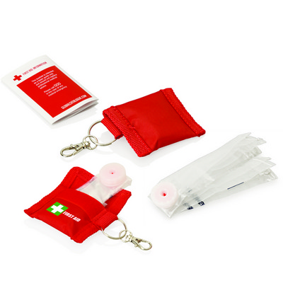 Picture of First Aid CPR Mask Keyring