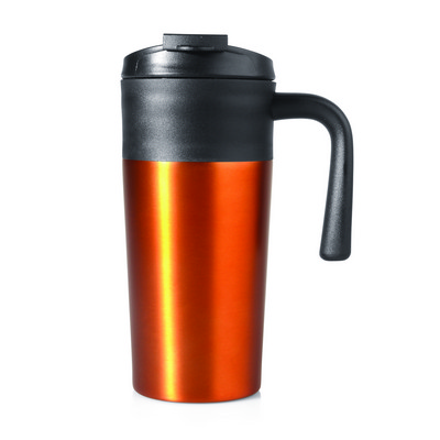 Picture of Travel Mug Aluminium Double Wall 450ml