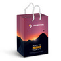 Small Laminated Paper Carry Bag - Full C