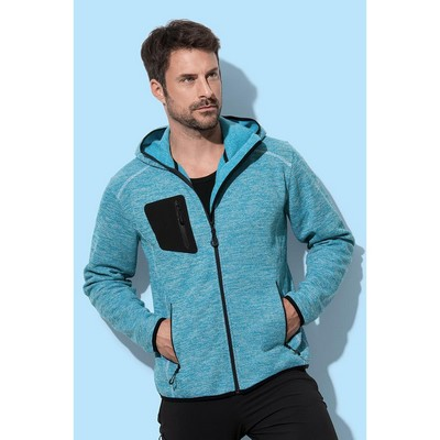 Picture of Mens Recycled Fleece Jacket