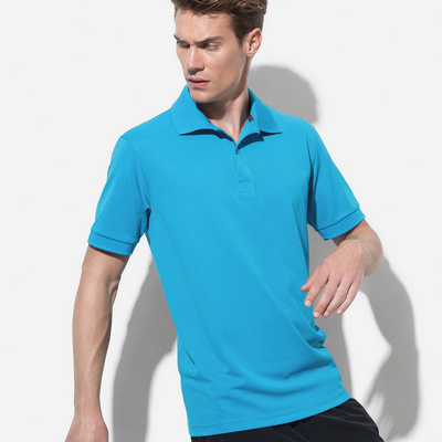 Picture of Mens Active Piqu Polo