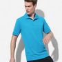 Mens Active Piqu Polo
