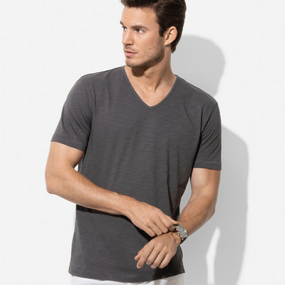 Picture of Mens Shawn Slub V-neck