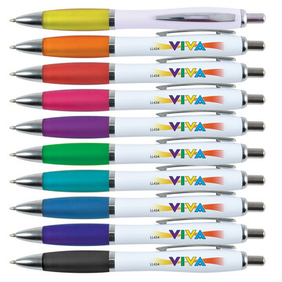 Picture of Viva Pen - White Barrel