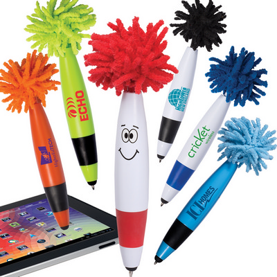 Picture of Mop Top Junior Ballpoint Pen  Stylus