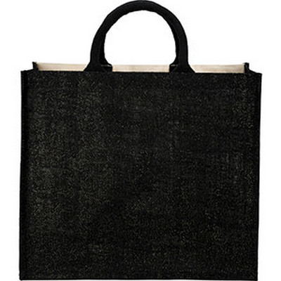Picture of Metallic Jute and Cotton Shopper Tote