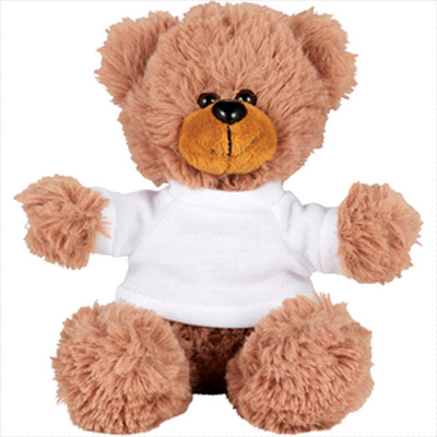 Picture of 6   Sitting Plush Bear with Shirt