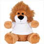 6inch Plush Lion with Shirt