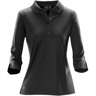 Picture of Womens Eclipse Pique LS Polo