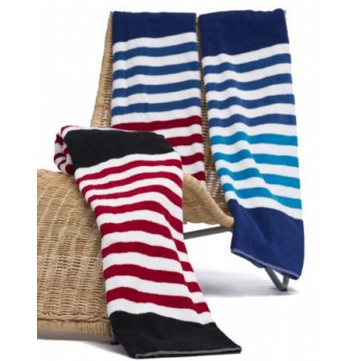 Picture of Seaside Stripe Beach towel