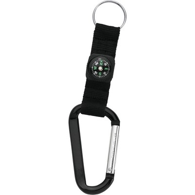 Picture of Carabiner with Compass