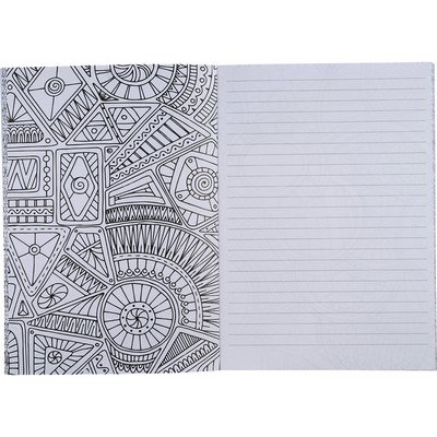 Picture of Doodle Adult Coloring Notebook