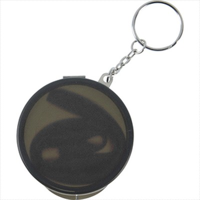 Picture of Reusable Silicone Straw Keychain