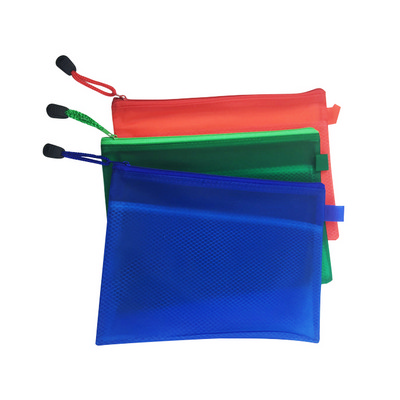 Picture of A5 Zippered Mesh Pouch