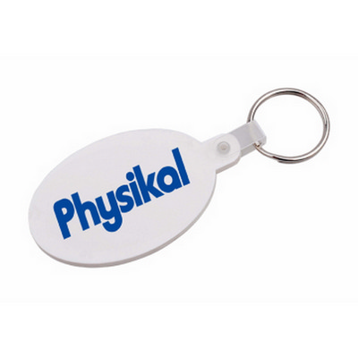 Picture of Oval Durasoft Keyring