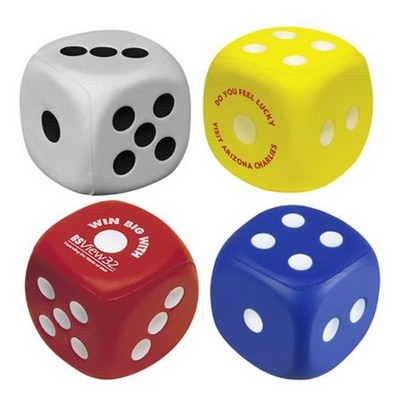 Picture of Dice Shape Stress Reliever
