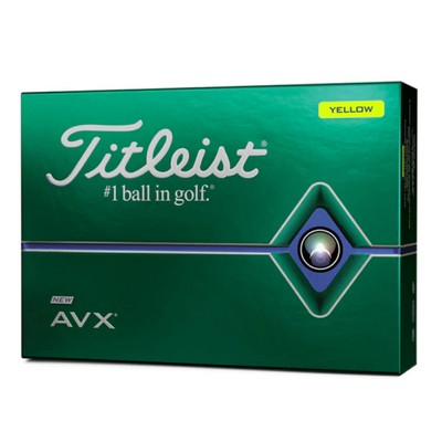 Picture of Titleist AVX - Yellow (Doz)