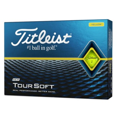 Picture of Titleist TourSoft - Yellow (Ball)