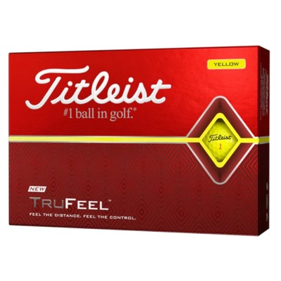 Picture of Titleist TruFeel - Yellow (Ball)
