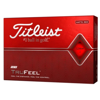 Picture of Titleist TruFeel - Red (Ball)