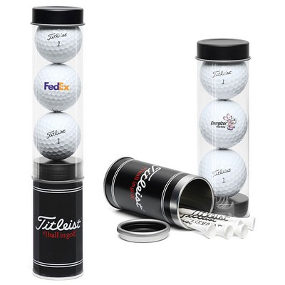 Picture of Titleist Custom Printed 3Ball Tube with