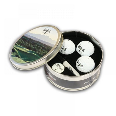 Picture of Titleist ProV1 Presentation Tin - Custom