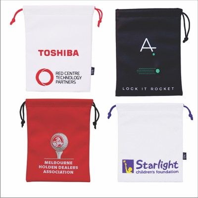 Picture of Custom Drawstring Valuables Bag
