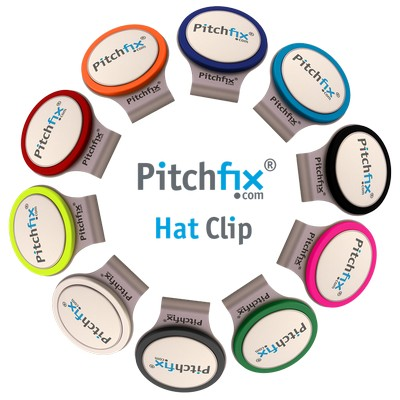 Picture of PitchFix Hat Clip - Red