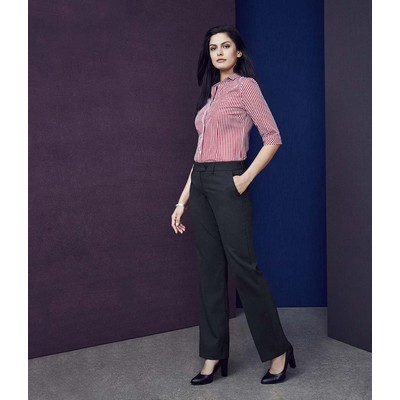 Picture of Womens Mid Rise Adjustable Waist Pant
