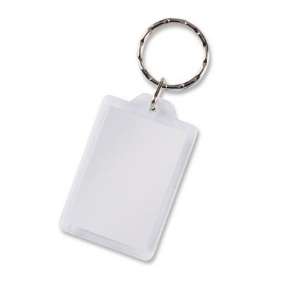 Picture of Lens Key Ring - Rectangle