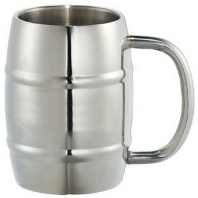 Picture of Growl Stainless Barrel Mug
