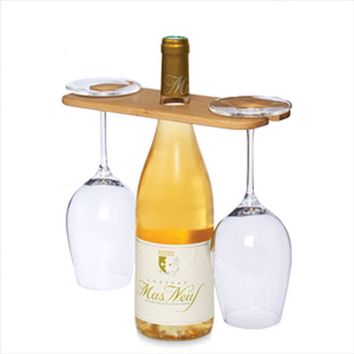 Picture of Wine Bottle Glass Carrier