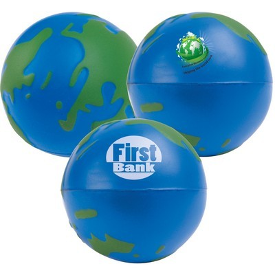 Picture of 2 Colour World Globe Stress Reliever