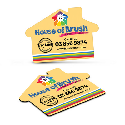Picture of Fridge Magnet 70 x 50mm - House Shape