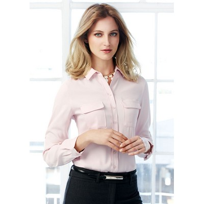 Picture of Madison Ladies LS Blouse